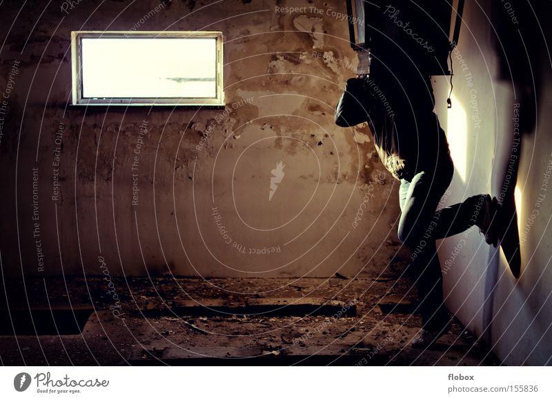 Dangerous Grief Derelict Distress Captured Penitentiary Helpless Jail sentence Prison cell Torture Punish Convict Suicide victim Torment