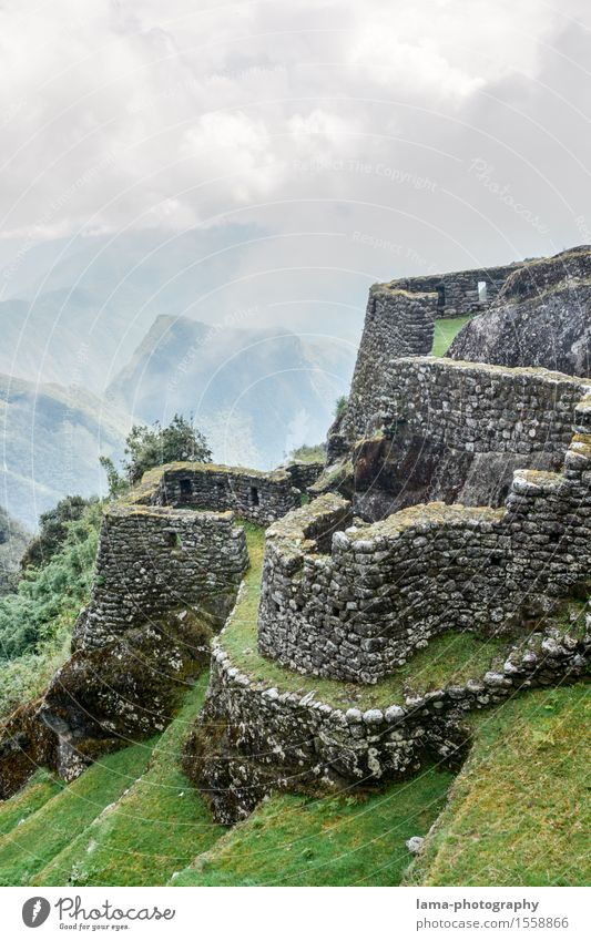 in the Inca Empire Vacation & Travel Tourism Trip Adventure Machu Pichu Cuzco Peru South America Ruin Manmade structures Fortress Wall (barrier) Wall (building)