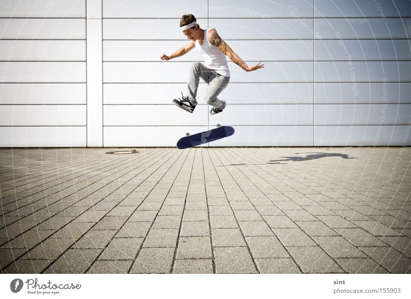 360 flip Youth (Young adults) Sports Playing Skateboarding Ice-skating Funsport