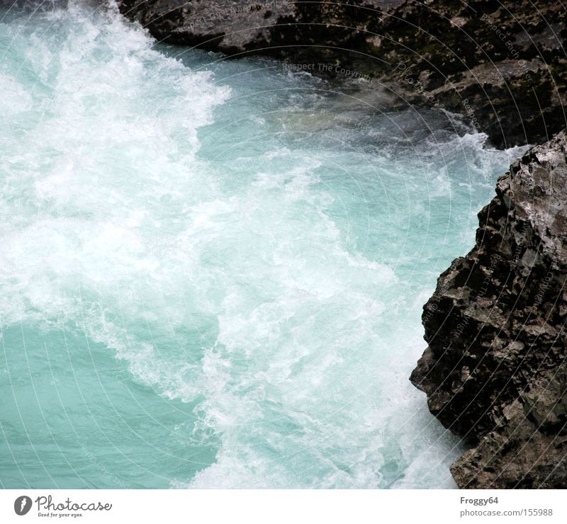 Water Joy Cold Waves Rock River Moss Canyon Brook White crest Whirlpool Current Slovenia