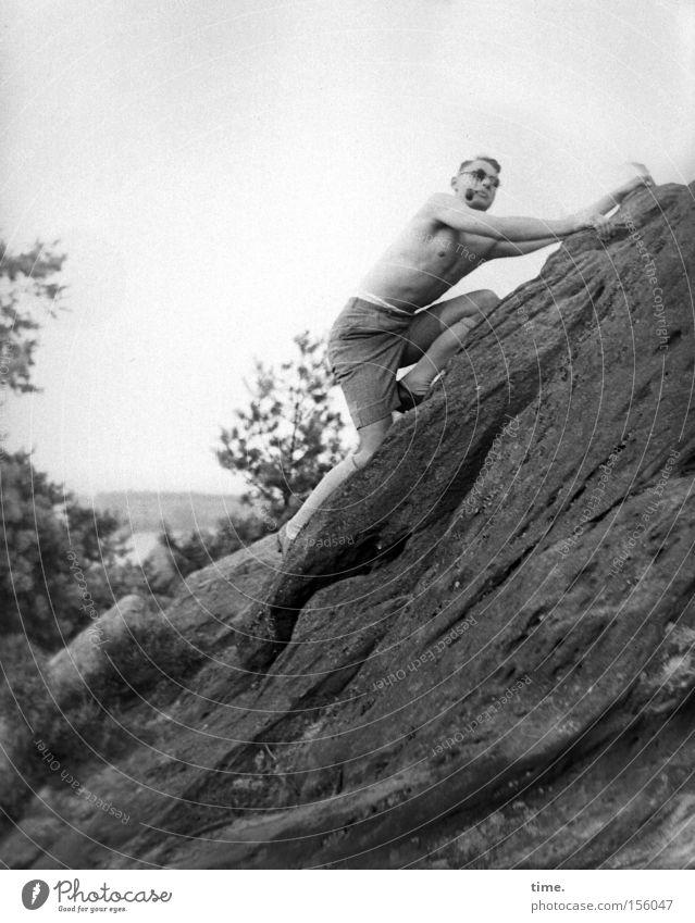 Man Vacation & Travel Mountain Stone Adults Rock Trip Smoking Climbing Sunglasses Effort Musculature Mountaineering Territory Eyeglasses Whistle