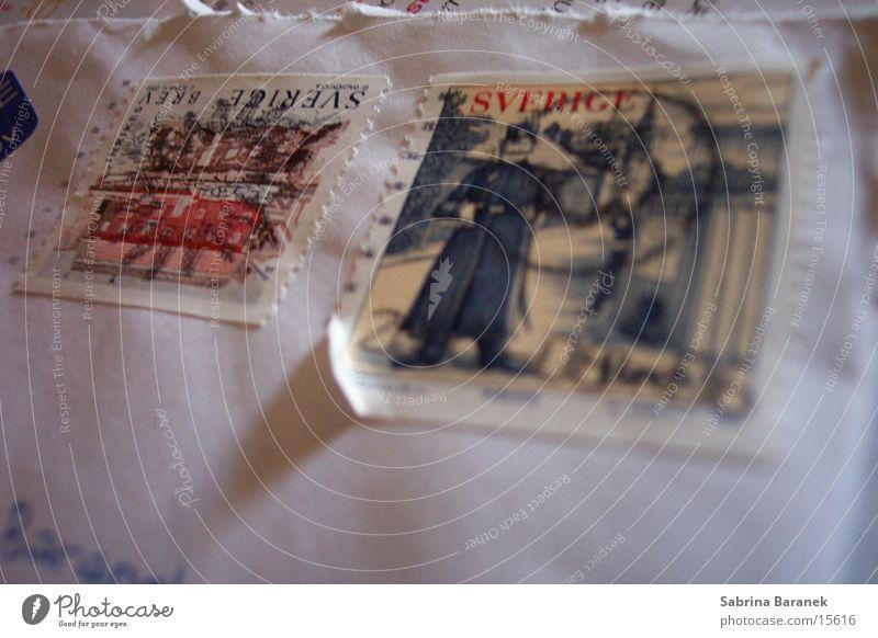 Things Letter (Mail) Sweden Pistil Envelope (Mail) Scandinavia Stamp