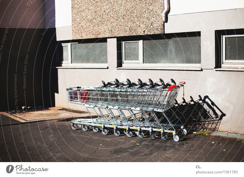 Window Wall (building) Wall (barrier) Growth Gloomy Shopping Break Economy Services Trade Closing time Shopping Trolley SME Shopping malls Shopping center