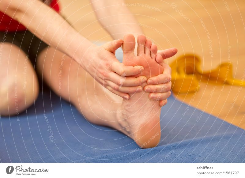 Human being Hand Relaxation Calm Sports Healthy Legs Feet Leisure and hobbies Arm Fingers Fitness Wellness Well-being Athletic Harmonious