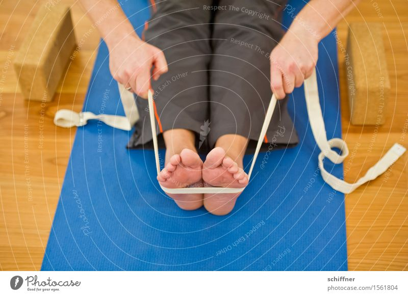 Human being Hand Relaxation Calm Sports Healthy Legs Health care Feet Sit String Well-being Harmonious Meditation Yoga Toes