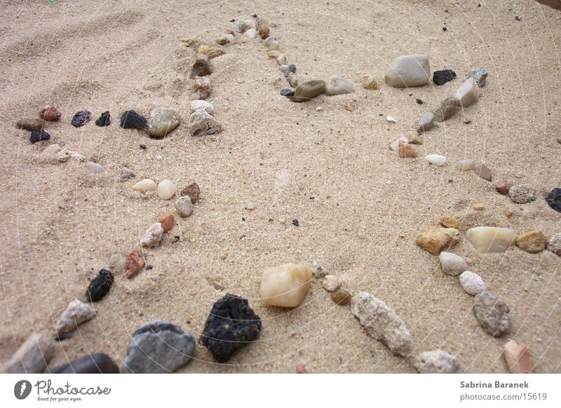 starlet! Beach Grain of sand Sand Star (Symbol) Stone
