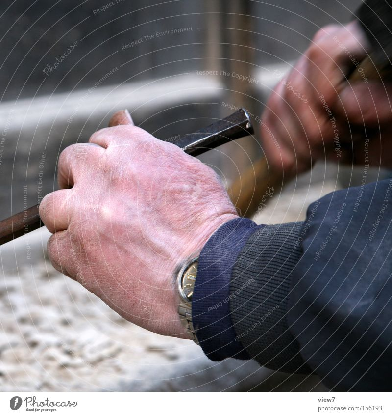 stonemason Handcrafts Work and employment Craft (trade) Tool Hammer Masculine Man Adults Stone Utilize Make Simple Effort Accuracy Concentrate Precision