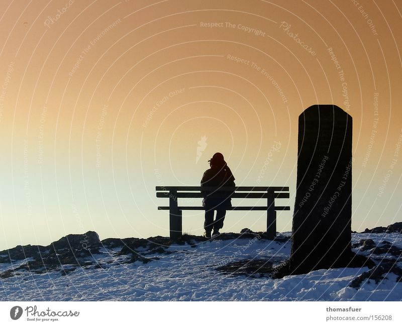 Hope Break Grief Transience Bench Longing Monument Fatigue Distress Goodbye Sunset Feeble Forget Ask Remember Doubt