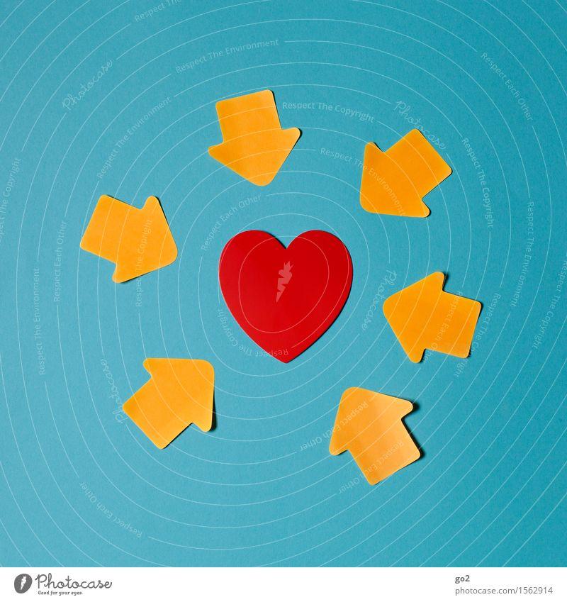 Blue Red Joy Life Love Emotions Healthy Happy Health care Together Friendship Orange Heart Joie de vivre (Vitality) Romance Sign