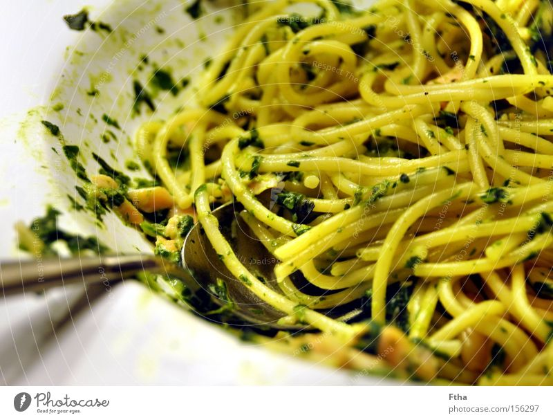 Nutrition Fish Italy Appetite Plate Noodles Spaghetti Stone pine Salmon Dish Eaten Spinach Pine nut