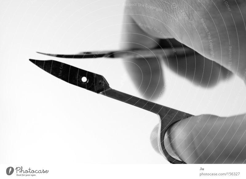 Hand Broken Transience Division Cut Scissors Two-piece Nail scissors