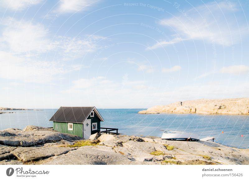 Water Sky Sun Ocean Green Blue Summer Beach House (Residential Structure) Colour Wood Coast Weather Horizon Hut Light