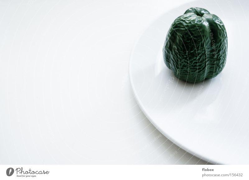 White Green Healthy Nutrition Kitchen Wrinkle Vegetable Plate Shriveled Forget Pepper Orange peel