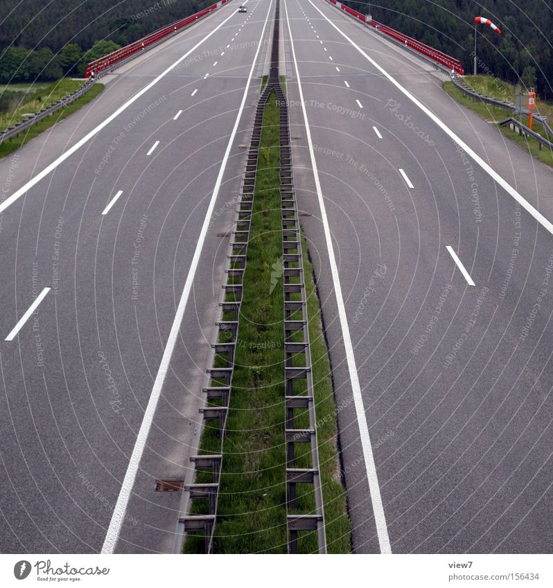 Street Lanes & trails Line Signs and labeling Concrete Transport Bridge Logistics Tracks Highway Traffic infrastructure Pavement Tar Coating Freeway