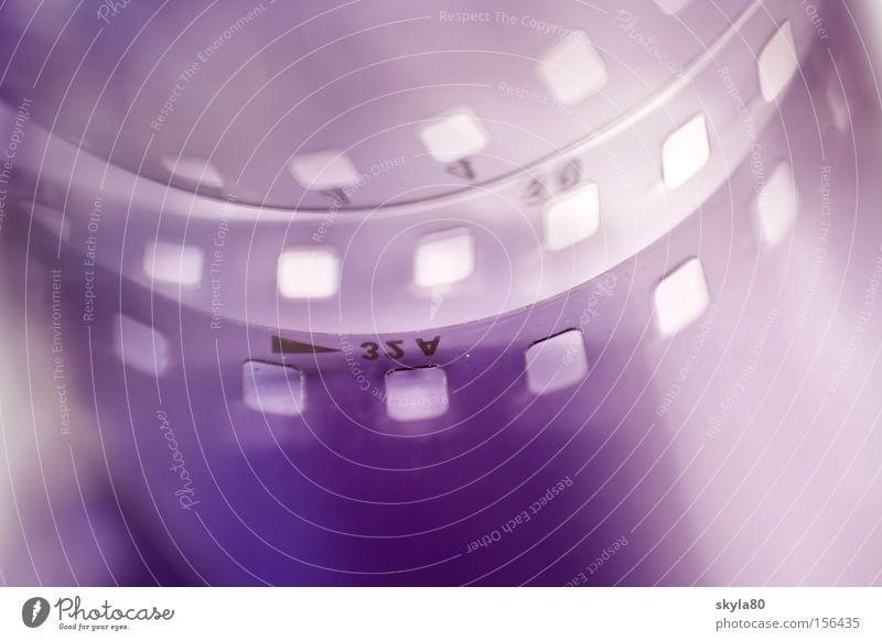 Old Photography Retro Plastic Film Violet Analog Craft (trade) Positive Cinema Macro (Extreme close-up) Take a photo Chemistry Laboratory Slide Invent