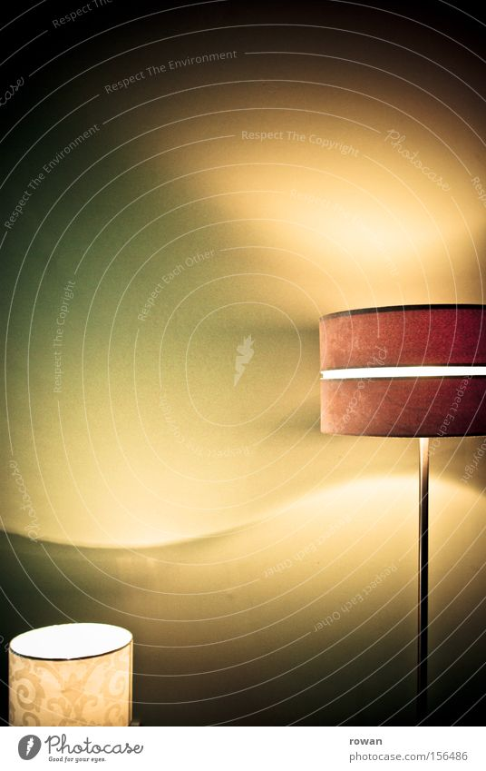 Play of light Light Lamp Standard lamp Waves Bright Lighting Living room Electric bulb Illuminate Living or residing