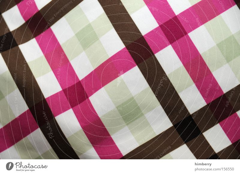 Fashion Pink Background picture Clothing Pattern Decoration Rag Household Checkered Quality Cotton Dry goods