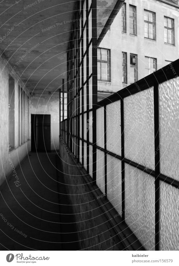dictatorship of the right angle Black & white photo Exterior shot Copy Space left Copy Space top Copy Space bottom Shadow Deep depth of field