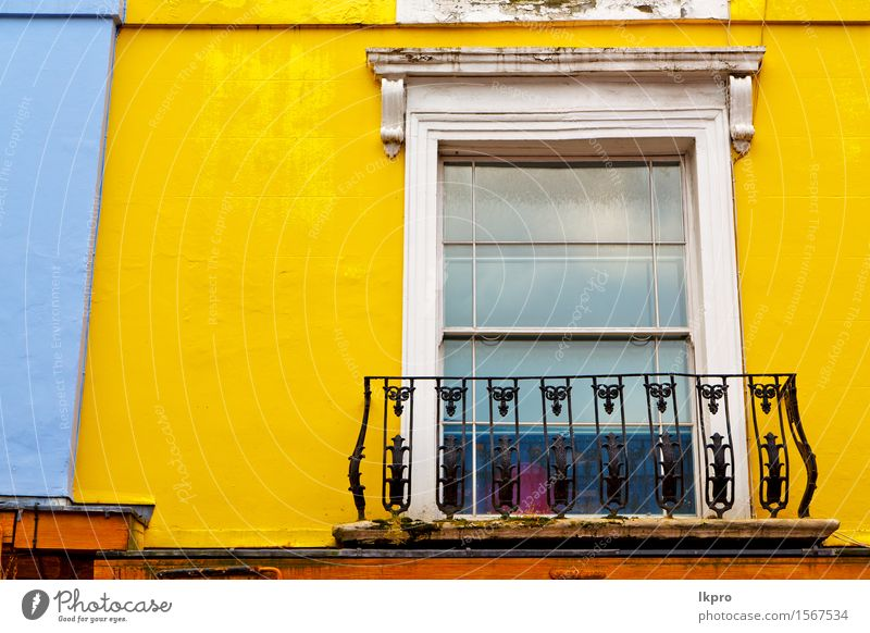and antiqueyellow wall door Luxury Style Flat (apartment) House (Residential Structure) Hill Town Building Architecture Balcony Street Wood Old Authentic Yellow