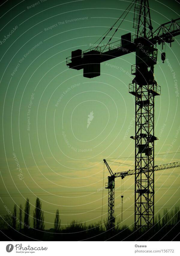 Sky Industry Construction site Steel Craft (trade) Construction Crane East Construction crane Outrigger