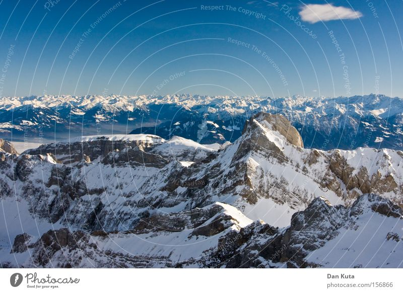 Farthest. Mount Säntis Mountain Switzerland Climbing Mountaineering Cold Frost To enjoy Calm Peace Clarity Contentment Winter Snow Ice Freedom Joy Open Honest