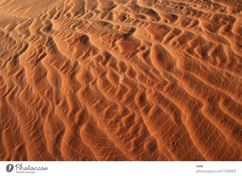 Nature Red Colour Sand Waves Wind Desert Dry Dune Flow Glow Formation Sandstorm