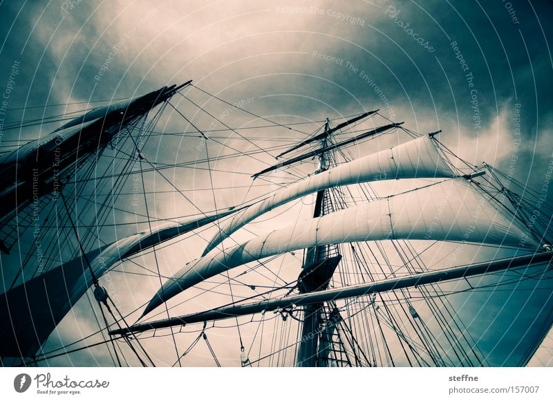 Ocean Vacation & Travel Watercraft Power Force Might Historic Navigation War Sail Sailboat Pirate Sailing ship Impressive Maritime Massive