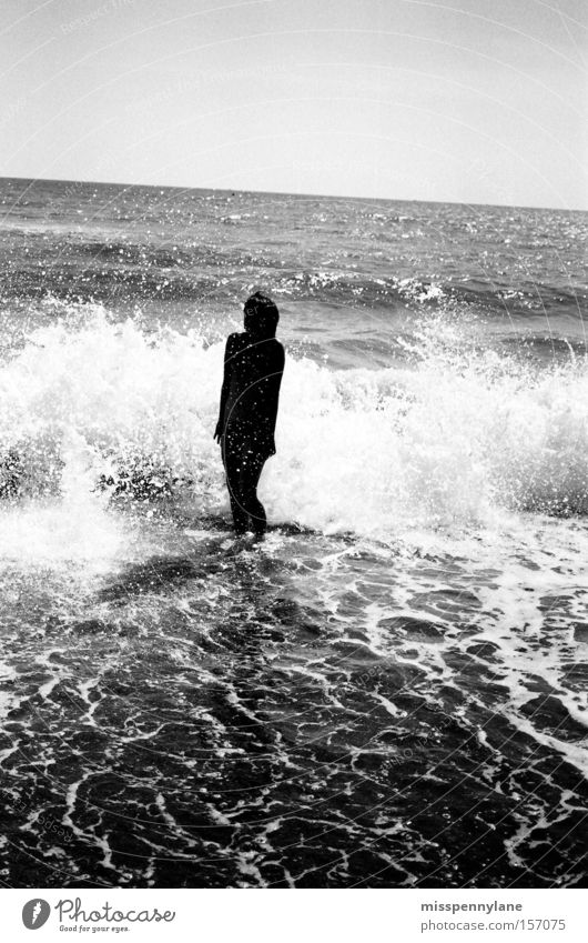 Water Ocean Summer Joy Beach Waves Bikini Back-light Frightening White crest