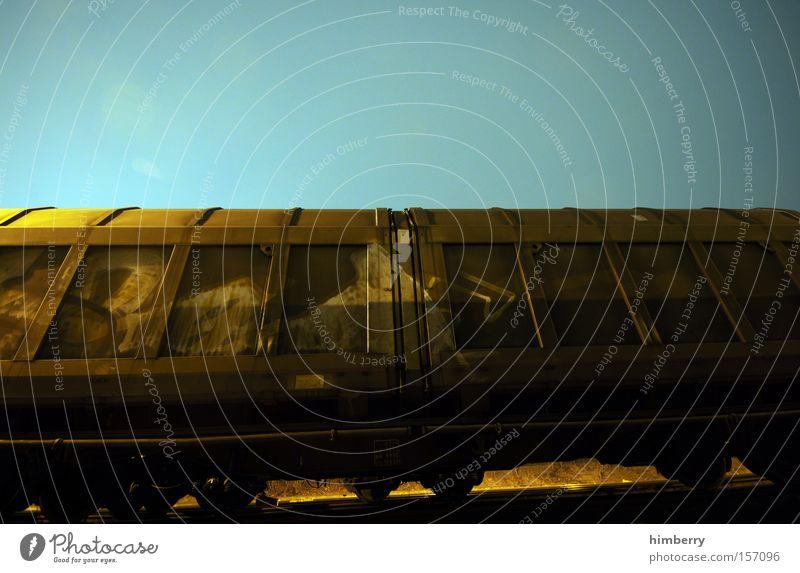 Transport Railroad Industry Logistics Railroad tracks Container Shipping Railroad car Rail transport Freight car