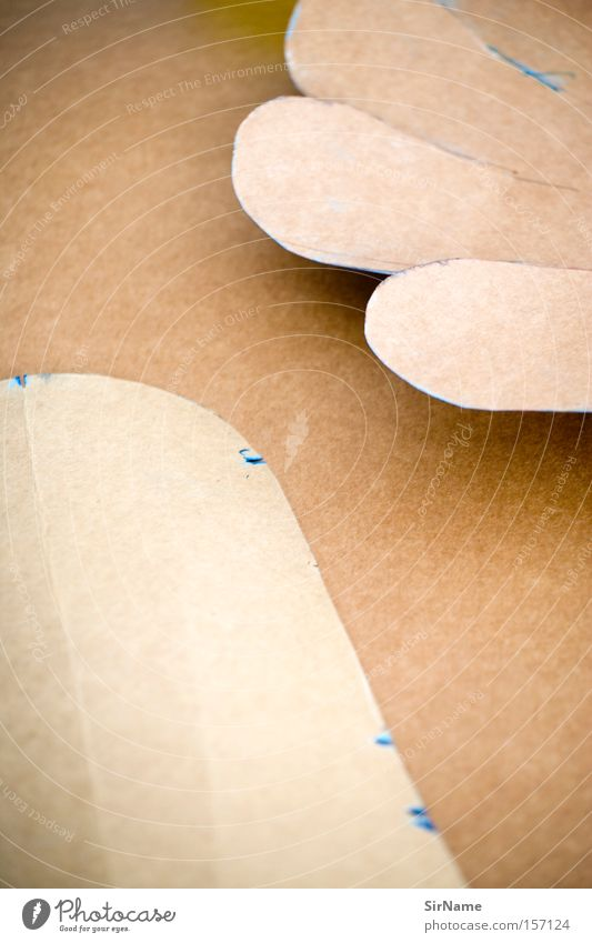 Brown Art Paper Culture Point Cardboard Handicraft Cut Stick Arts and crafts  Tailor Tailoring