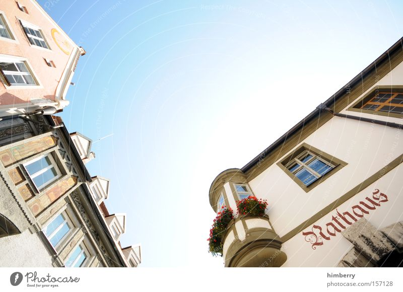 House (Residential Structure) Building Architecture Germany Monument Historic Landmark Old building Old town City hall Public agencies and adminstrations