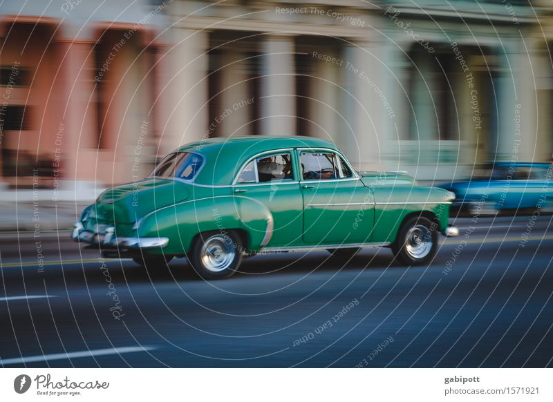 cuban cars Havana El Malecón Cuba Capital city Port City Downtown Old town Transport Means of transport Traffic infrastructure Road traffic Motoring Street