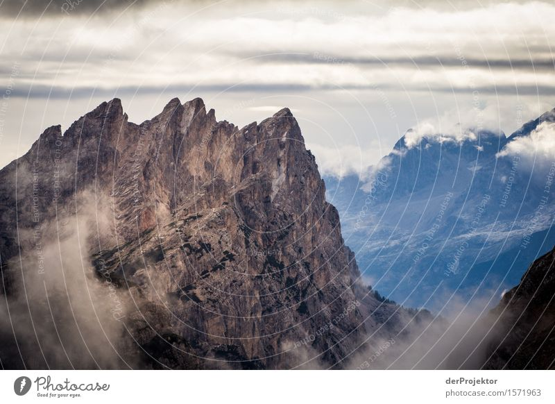 sunrise in the dolomites Vacation & Travel Tourism Trip Adventure Far-off places Freedom Mountain Hiking Environment Nature Landscape Plant Summer Bad weather