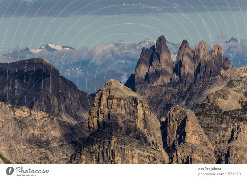 Fantastic panoramic view in the Dolomites Vacation & Travel Tourism Trip Adventure Far-off places Freedom Mountain Hiking Environment Nature Landscape Plant