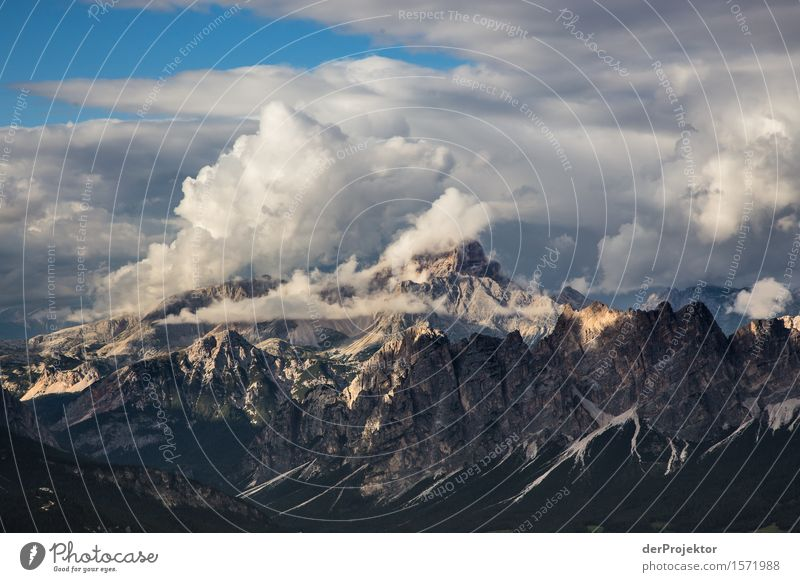 Clouds in the Dolomites Vacation & Travel Tourism Trip Adventure Far-off places Freedom Camping Mountain Hiking Environment Nature Landscape Plant Summer