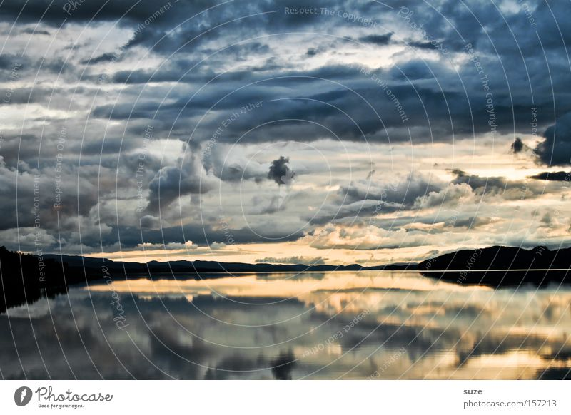 Nature Sky Ocean Blue Calm Loneliness Mountain Freedom Coast Reflection Norway Memory Scandinavia Lofotes