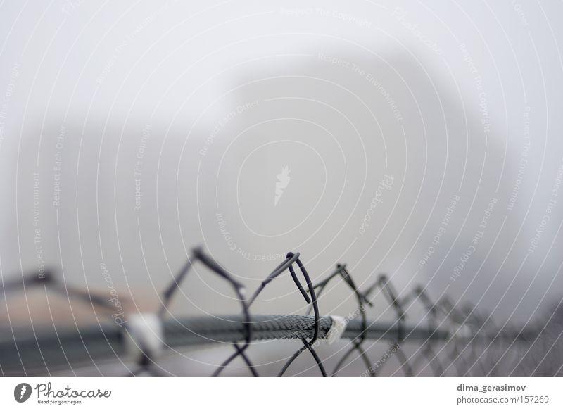 Border Colour Street Gray Fear Fog Fence Boundary