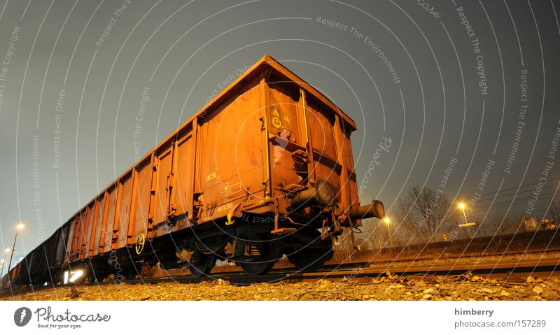 Transport Railroad Industry Logistics Railroad tracks Container Shipping Railroad car Rail transport Freight car