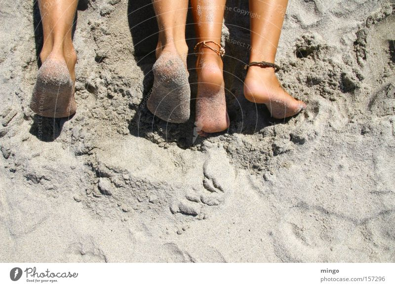 togetherness Beach Feet Vacation & Travel Ocean Legs Deckchair Calm Summer Sand Relaxation Coast Warmth