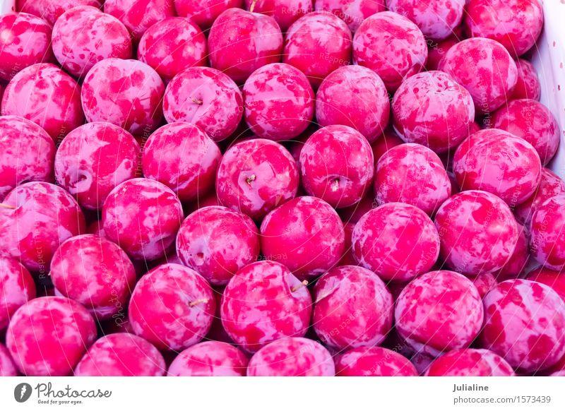 Background fresh red plum Red Fruit Fresh Berries Vegetarian diet Raw Organic Plum