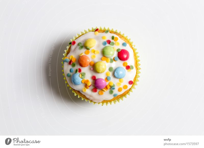 Background picture Bright Decoration Cooking & Baking Near Cake Dessert Baked goods Muffin Cupcake Ornate Childrens birthsday Granules Icing Tartlet