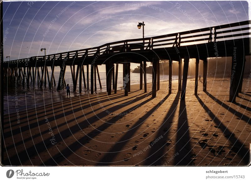 Ocean Beach Footbridge Jetty California North America