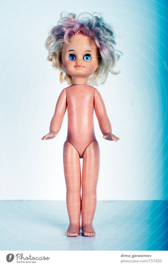 Doll 1 Blue Eyes Colour Legs Fear Body Hair Lips Doll Panic Horror Nightmare Move (board game)