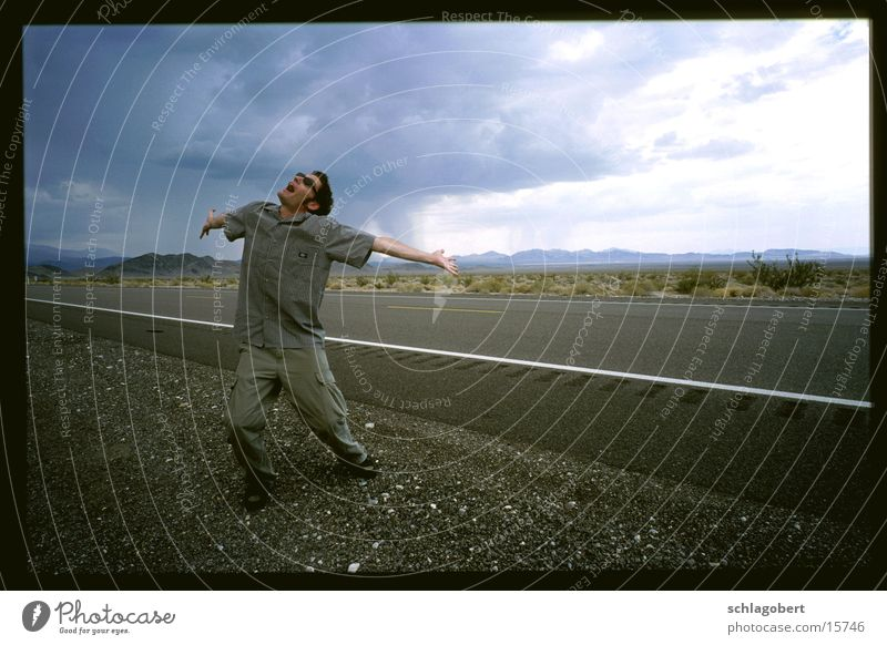 Man Clouds Street Emotions Rain Sunglasses Synthesizer Death valley Nationalpark Roland Juno 60