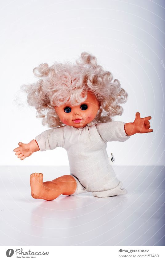 Doll 10 Blue Colour Eyes Legs Fear Hair Lips Doll Panic Horror Nightmare Move (board game)