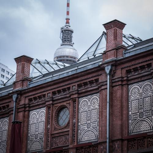 City Old House (Residential Structure) Architecture Berlin Building Facade Manmade structures Tourist Attraction Landmark Capital city Factory Downtown Old town