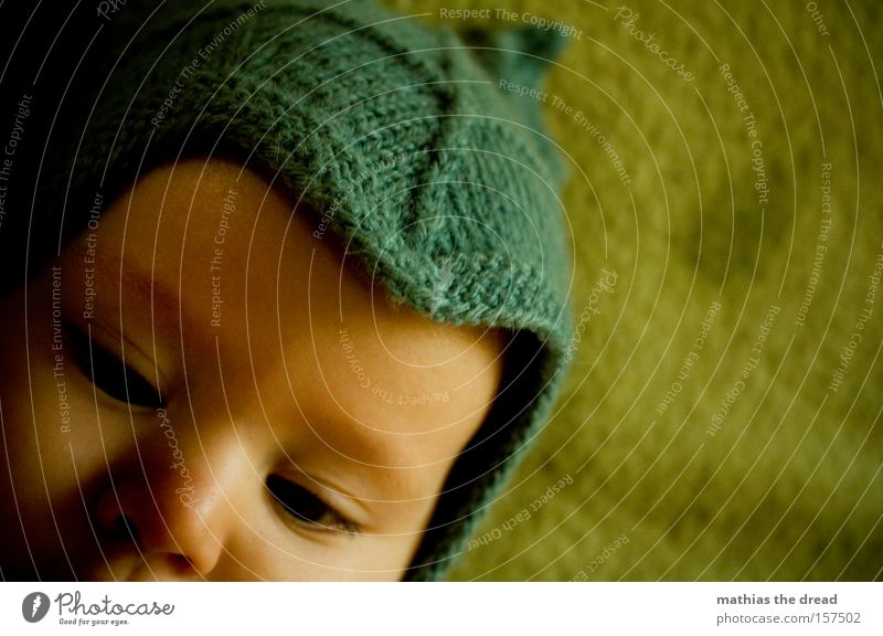 Child Hand Beautiful Eyes Warmth Baby Sweet Cute Cap Fat Toddler Dreamily Lick Suck Slaver