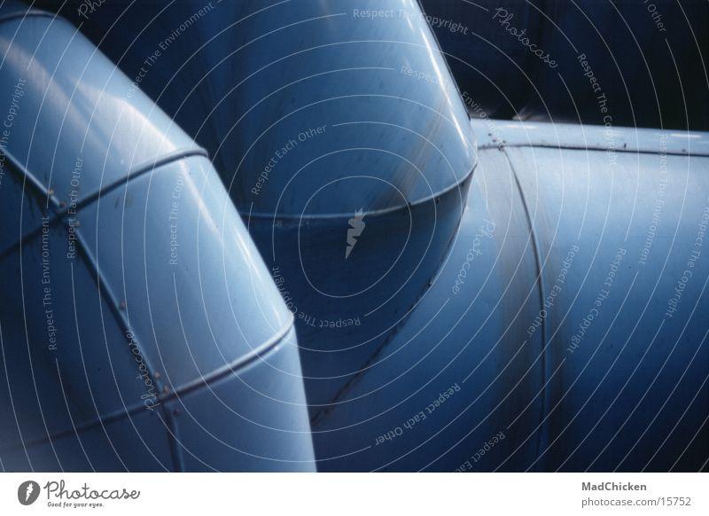 Blue Architecture Design Europe Paris Pipe France Pipeline Ventilation Modern architecture Pompidou center