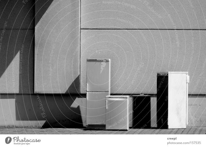 White Winter Black Industry Derelict Monochrome Icebox Apocalyptic sentiment Economic crisis