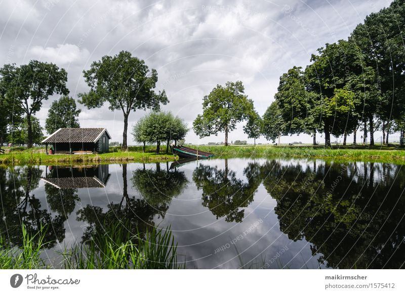 mirror mirror mirror Life Harmonious Relaxation Calm Meditation Vacation & Travel Hiking House (Residential Structure) Garden Nature Landscape Water Sky Forest